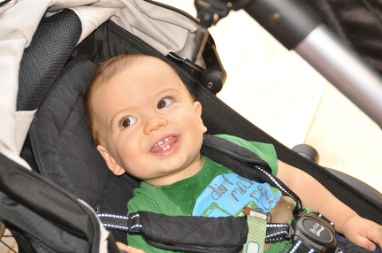 Happy JB in the stroller1
