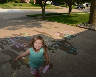 Coloring the Driveway1