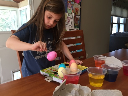 Coloring Easter Eggs2