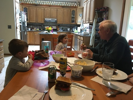 Dinner with Grandpa