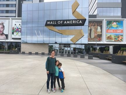Spending the day at Mall of America